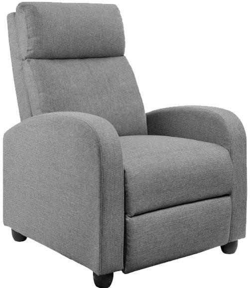 Jummico Fabric Massage Recliner Chair